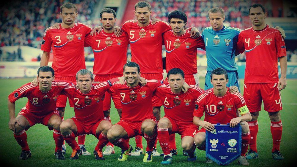 Football Russian Team 2017