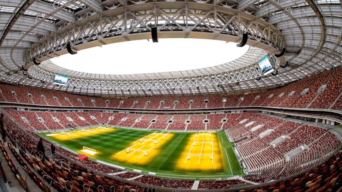 luzhniki stadium / moscow (FIFA 2018)