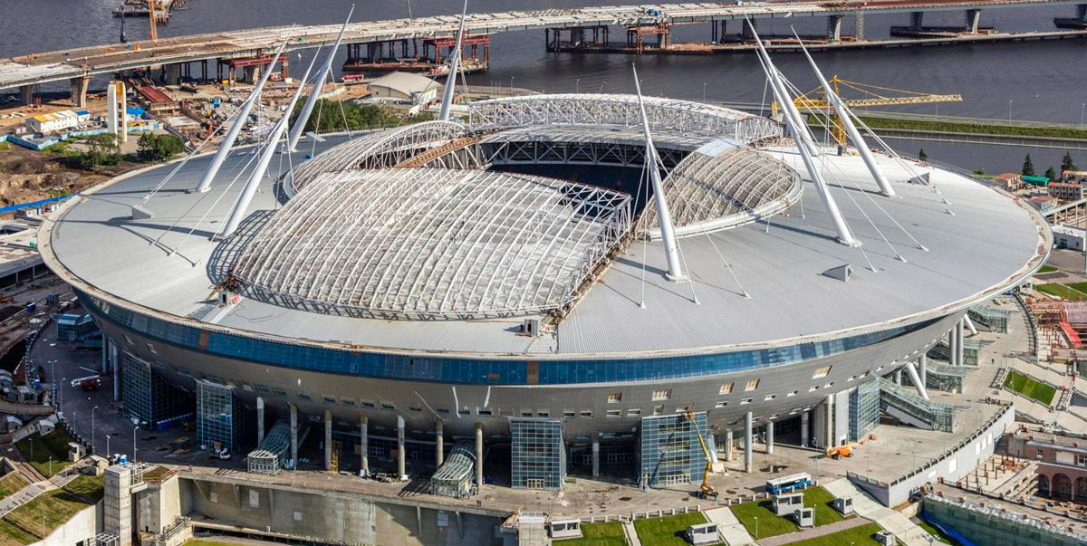 Saint Petersburg stadium (FIFA 2018)