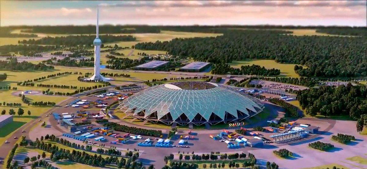 samara arena stadium (FIFA 2018)