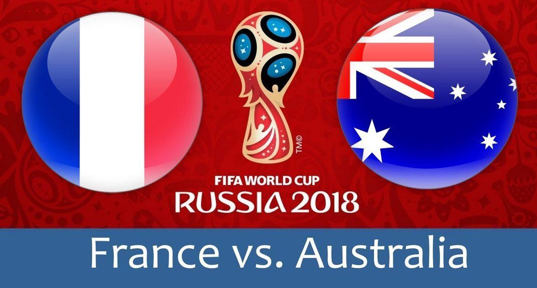 France - Australia 16 jun 2018