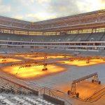 Preparing Kaliningrad Stadium for the Match