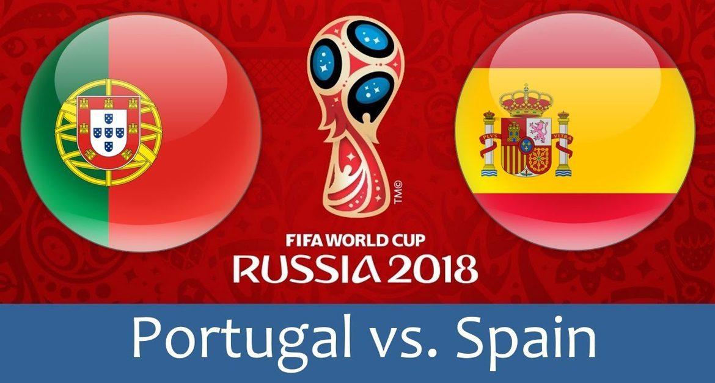 Portugal - Spain 15 Jun 2018