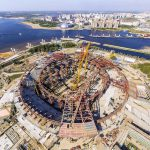 Saint Petersburg Stadium - Building Begins