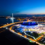 A Bird's-eye Saint Petersburg Stadium
