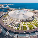 3D View of Saint Petersburg Stadium