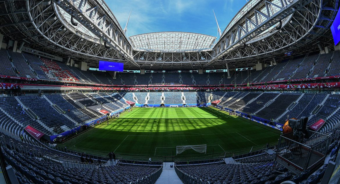 Saint Petersburg Stadium is Ready for World Cup 2018