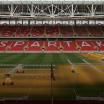 Spartak Stadium - Lawn Preparation