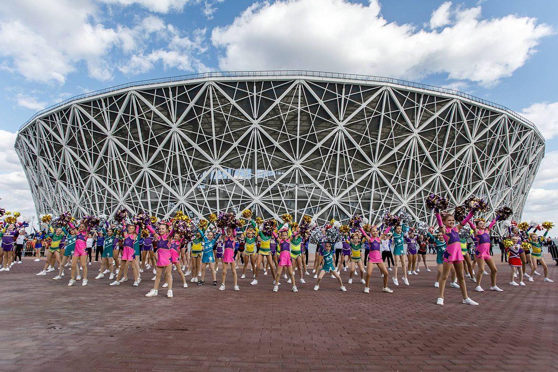 Volgograd Stadium WC 2018