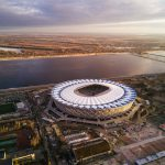 Bird's-eye View of Volgograd Stadium
