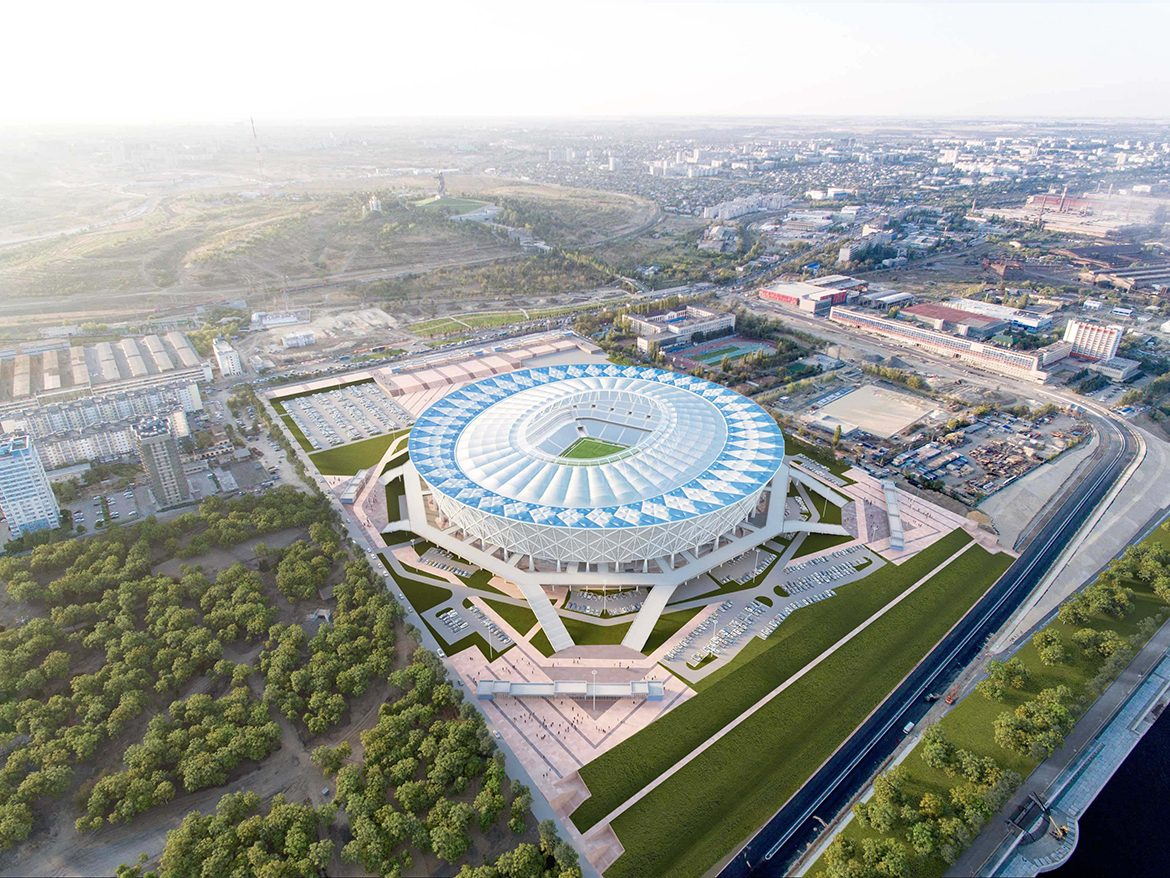 Visualization of Volgograd Stadium