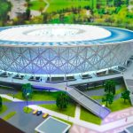 3D Model of Volgograd Stadium