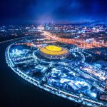 Stadium Luzhniki - Night View
