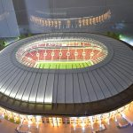 The Layout of the Renovated Stadium Luzhniki
