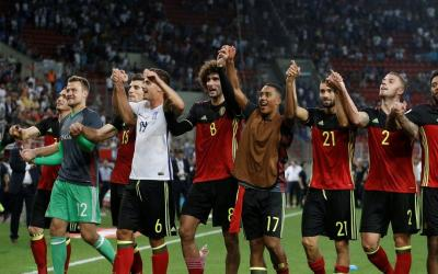 Belgium squad made their way to the World Cup 2018