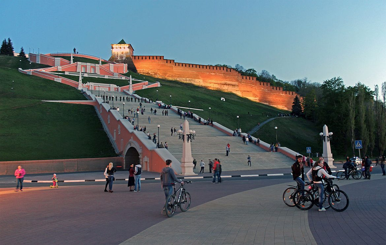 Chkalovskaya staircase