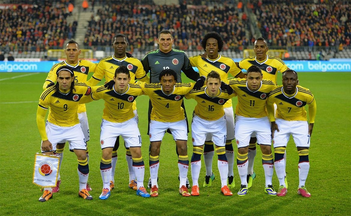 Colombia national football team composition