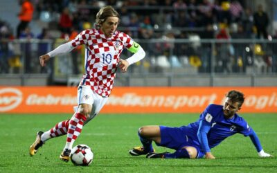Croatian national football team Modric