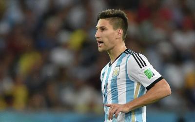 Defender of Argentinas Federico Fernandez