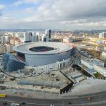 Top View of Ekaterinburg Arena