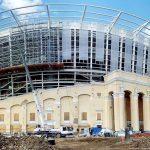 Ekaterinburg Arena - Building Continues