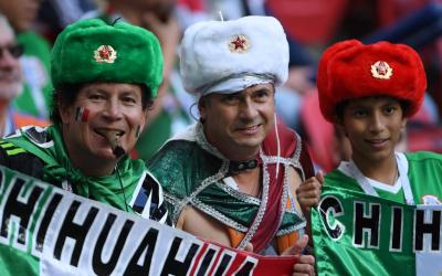 Fans of the Mexican national team
