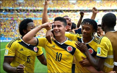 Football players of Colombia