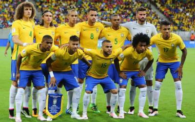 Football players of the Brazilian national team