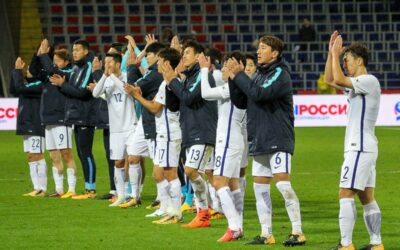 Football players of the National team of Korea