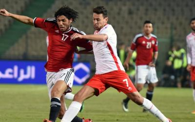 Football players of the national team of Egypt