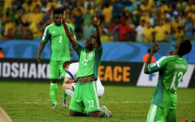 Football players of the national team of Nigeria