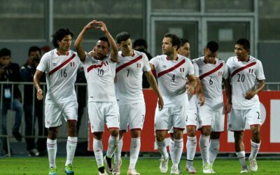 Football players of the national team of Peru