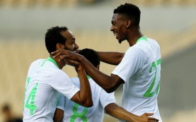 Football players of the nationall team of Saudi Arabia
