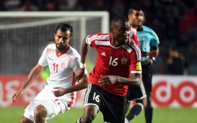 Football players of the national team of Tunisia
