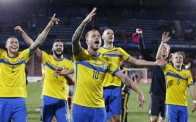Footballers of the Swedish national team