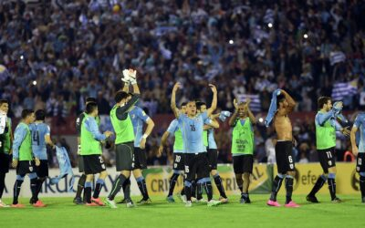 Footballers of the national team of Uruguay