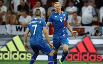 Forward Iceland team Colbane Sigtorsson