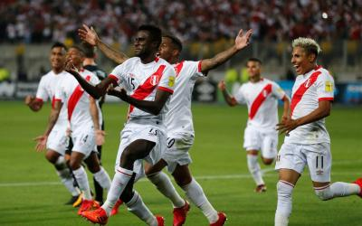 Forward Loco gave Peru the last ticket to the 2018 World Cup