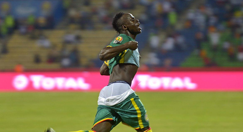 Forward of the English Liverpool and the Senegal national football team Sadowo Manet
