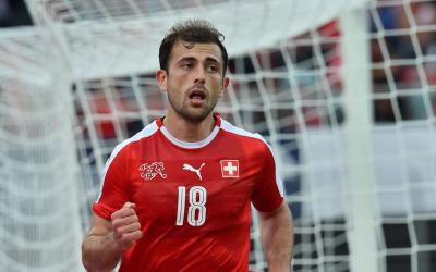 Forward of the Swiss national football team Admir Mehmedi
