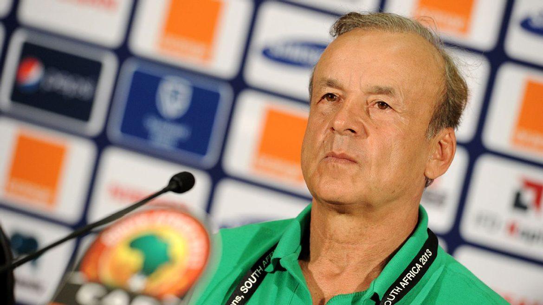 Gernot Rohr coach of Nigeria