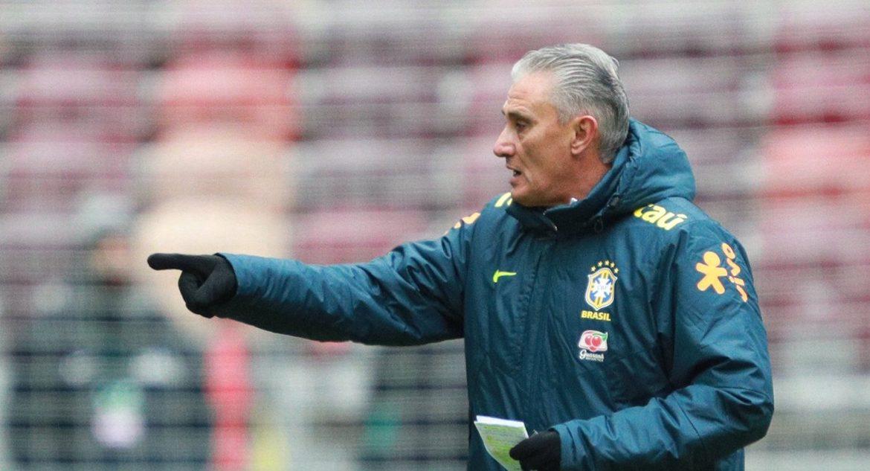 Head coach of Brazil Tite