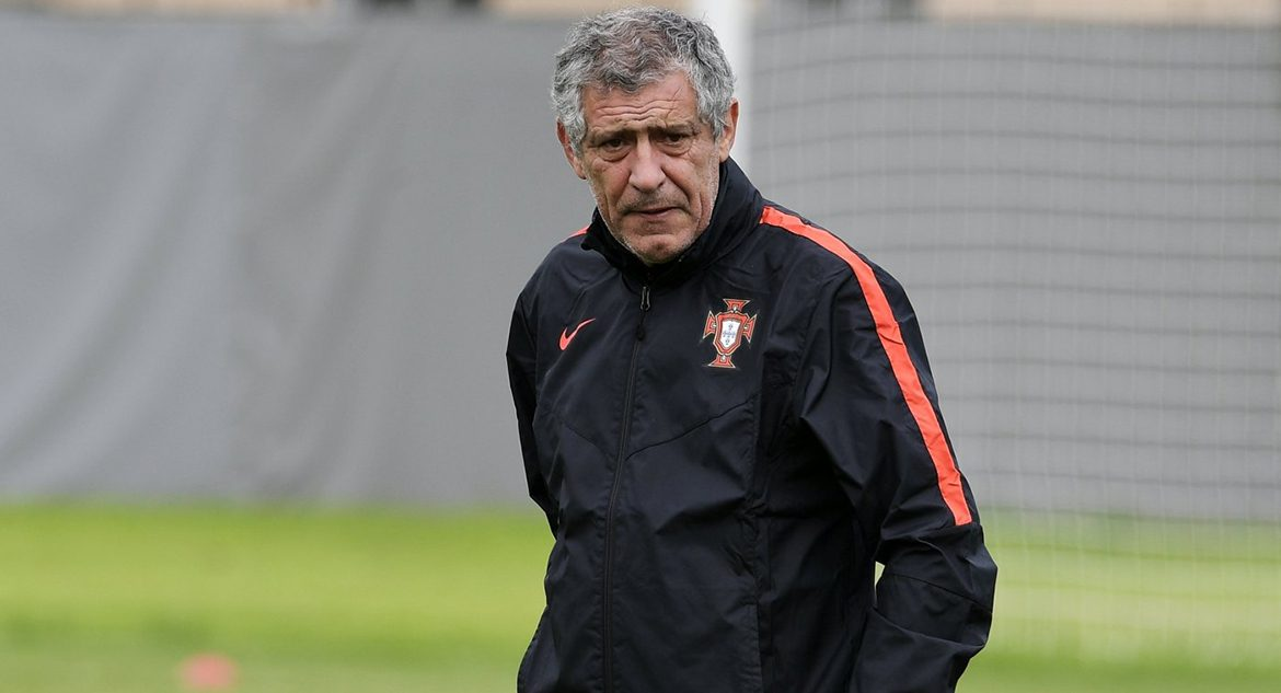 Head coach of Portugal Fernando Santos