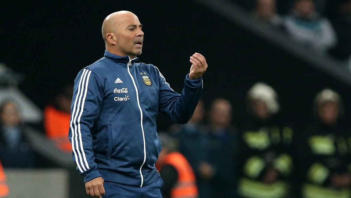 Head Coach of the Argentina National Team Jorge Sampaoli