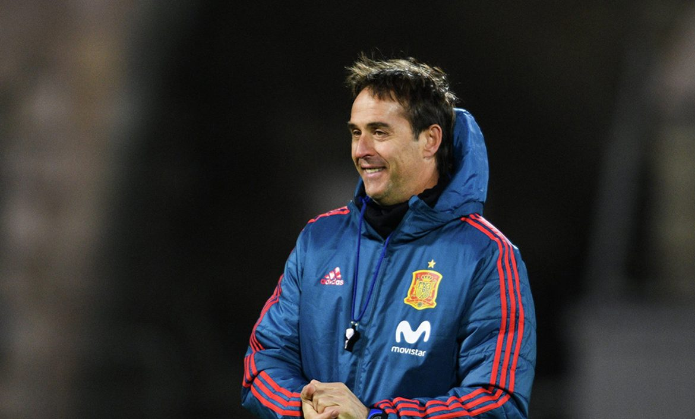 Head coach of the Spanish national team Lopetegi