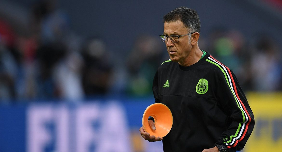 Head coach of the national team of Mexico Juan Carlos Osorio