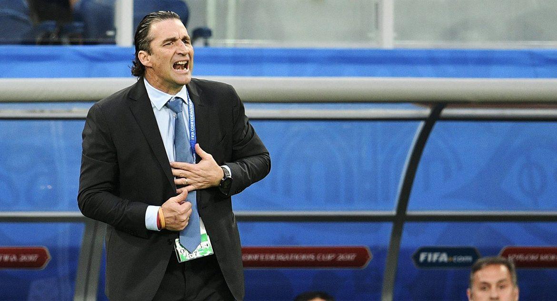Head coach of the national team of Saudi Arabia Juan Antonio Pizzi