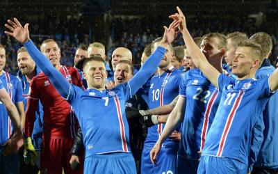 Iceland national football team defeated the Indonesian team in a friendly match