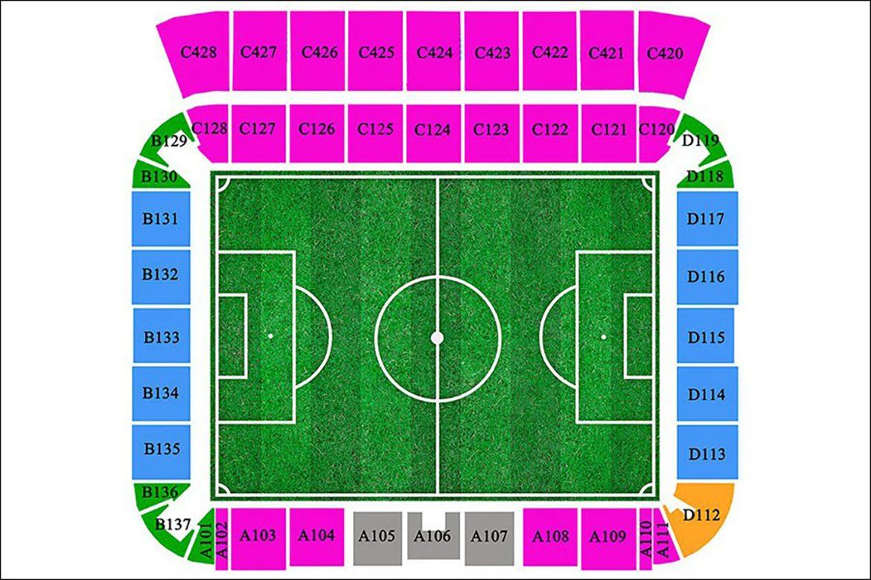 Kaliningrad Stadium - Navigation