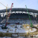 Kazan Arena - Building Begins